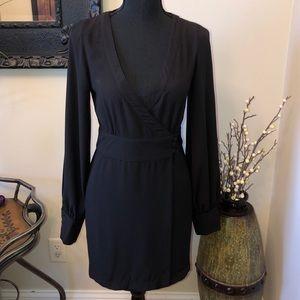 Blanque Label Wrap Dress